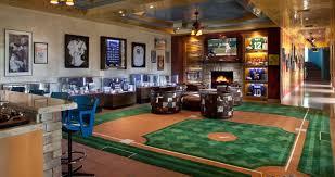 sport corner man cave decor. Room · Baseball Man Cave Ideas Sport Corner Decor N