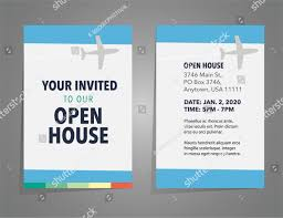 Free 15 Open House Invitation Designs Examples In