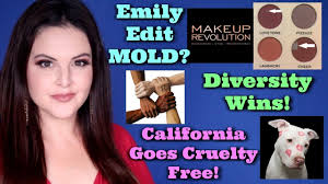 what s up in makeup news mold in emily s wants palette california goes free more