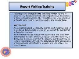 Buy Original Essays Online Write Security Guard Incident