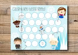 potty training chart kids reward chart frozen reward chart printable instant printable