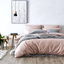 free bedroom design unique dusty pink duvet cover home republic stonewashed cotton quilt of of