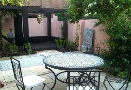 moroccan outdoor furniture. Moroccan Outdoor Furniture Garden Table And Chairs Design Floor F