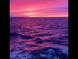 Lofi Hip Hop Purple Ocean Relax Youtube