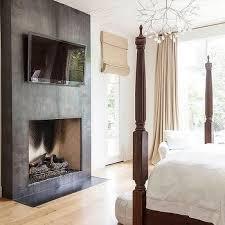 beachside bedroom fireplace design ideas