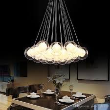 newest modern led glass ball pendant lights led ball bubble chandelier pendant lamp ceiling lights with g4 bulb ball pendant lights glass light ball bubble