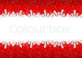 christmas snowflake border. Delighful Snowflake Christmas Snowflake Border On A Red Background  Stock Vector Colourbox And Snowflake Border