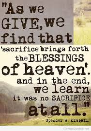 Quotes About Sacrifice Stunning Sacrifice Wallpaper With Quote