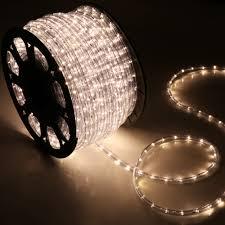 easy outside christmas lighting ideas. 150 Warm White 2 Wire 110v Led Rope Lights Home Outdoor Christmas Lighting Small Bulbs Easy Outside Ideas