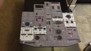 overhead panel autopilot mcp templates for boeing 737 ngx simulator