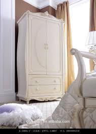 Selling Bedroom Furniture English Style White Color Wardrobe Hot Selling Bedroom Furniture