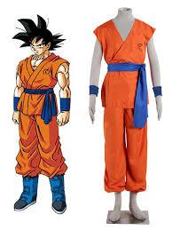 Dragon Ball Cosplay Z Resurrection F Son Goku Kakarotto Super Saiyan God Form Uniform Anime Cosplay Costume