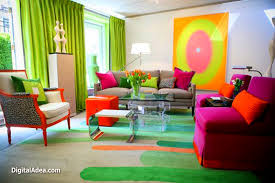 Bright Colored Living Room Fair Bright Color Bedroom Ideas