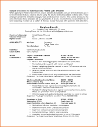 Resume Sample Federal X Kb Student Examples Throughout Usa Jobs