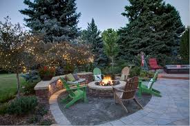 paver patio with fire pit. Unique Fire Fine Paver Patio With Gas Fire Pit 0 To