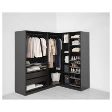 compact pax wardrobe ikea system for easy clothes organizing ideas