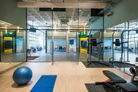 office in house. The In-house Gym. Photo Credit: Jovian Lim ViaArch Daily Office In House