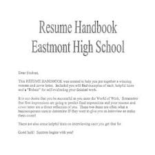 Resume Cover Letter Sample High School Student Valid College Cover ...