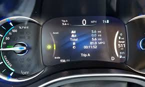 2017 Chrysler Pacifica Dashboard Lights 2017 Chrysler Pacifica Hybrid First Drive Review Autonxt