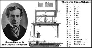 「1838, samuel morse first succeeded electrical  telegraph」の画像検索結果
