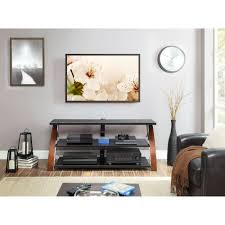 Whalen Brown Cherry 3in1 Flat Panel TV Stand for TVs up to 65   Walmartcom