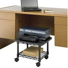 com safco s 5206bl under desk printer machine stand photo details