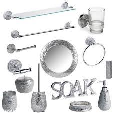 Wayfair Bathroom Accessories Brilliant Paradigm Trends Ice 6 Piece Bath Accessory Set Amp