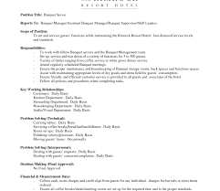 Housekeeping Resume Template For Photo Examples Resume Sample