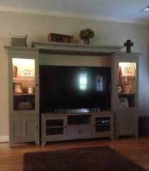 Entertainment Center Makeover using Annie Sloan Entertainment ...