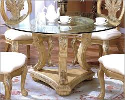 traditional round glass dining table amazing traditional round glass dining table