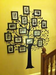 29 impossibly creative ways to completely transform your walls pinterest family tree wall decal family trees and super easy on family picture frame wall art with 29 impossibly creative ways to completely transform your walls