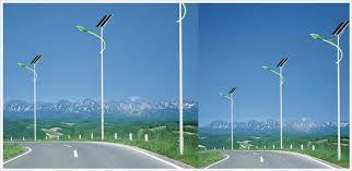 Solar Street Lighting System 80W LVD Lamp   CRM  CRM China Solar System Street Light