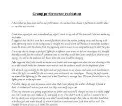 group performance evaluation gcse drama marked by teachers com document image preview