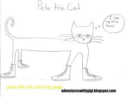 Pete The Cat Printable And His Four Groovy Buttons Coloring Shoes