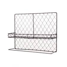 wire wall rack towel bar iron wall shelf wall hangings shelf gardening gardening with towel hanger