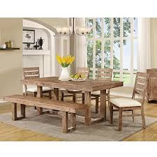 rustic dining table and chairs. Captivating Rustic Kitchen Table Sets On Dining Set Throughout Amazon Com Design 7 And Chairs