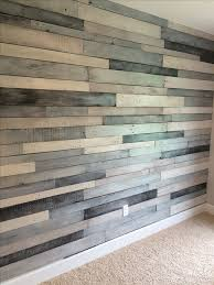 pallet wood wall texture. pallet wood wall using benjamin moore metallic paint -silver and charcoal, in addition three texture p