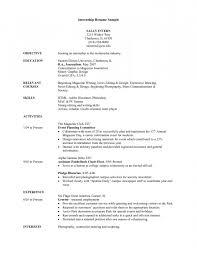 college internship resume examples template marketing internship resume samples