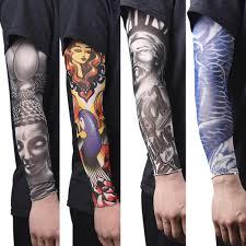 новый горячий вождения солнцезащитный крем рука татуировка рукав мужчина