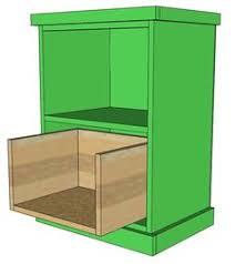 wood file cabinet plans. Ana White   Build A Your Own Office - Narrow File Drawer Base Unit Wood Cabinet Plans