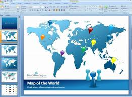 World Map Power Point How To Customize World Map In Powerpoint Youtube
