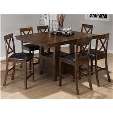 counter height rectangular table. Jofran Olsen Oak Casual Counter Height Rectangle Table With Storage Pedestal Base Rectangular C