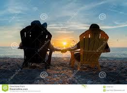 adirondack chairs on beach sunset.  Beach Download Couple Watching The Sunset On Beach Stock Image  Of Beach  Rest Intended Adirondack Chairs K