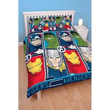 marvel avengers tech reversible double duvet cover bedding set avg 397258