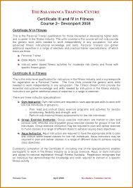 Personal Trainer Cover Letter Letter Format Template