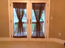 french doors with curtains. Simple Red Curtains For French Doors With Antique Dark Color Ideas E