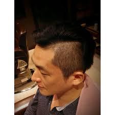 横分け刈り上げ 理容室 Darwin 国分寺ダーウィンのヘアスタイル