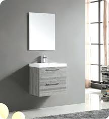 wall mount vanity wall mount matte modern bathroom vanity with mirror and faucet ash delta wall wall mount vanity