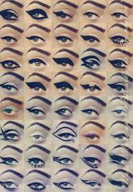 makeup is art the proof is in these pictures of all the diffe ways you can do your eyeliner