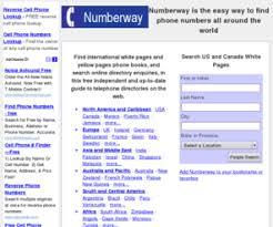 numberway free white pages people search international phone books numberway